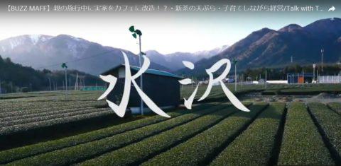 日本茶チャンネルのひとこま